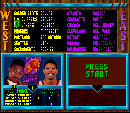 NBA Jam - Tournament Edition - Will Smith is in this game - User Screenshot