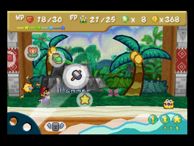 Paper Mario - O_O 30 Star Points from 1 fuzzy - User Screenshot