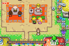 Legend of Zelda, The - The Minish Cap - I love you Zelda*.munch*What did you say link - User Screenshot