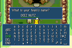 Pokemon Mystery Dungeon - Red Rescue Team - Character Profile  - im so sorry... - User Screenshot