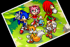 Sonic Advance 3 - Ending  - sonic and friends :) - User Screenshot