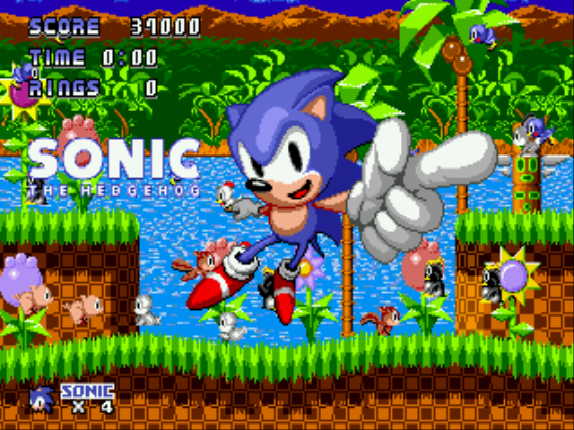Sonic 1 - Code Gray  - code gray perfect win!! - User Screenshot