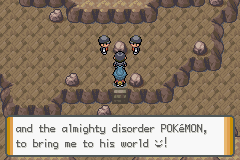 Pokemon Dark Cry - The Legend of Giratina (Alpha) - Cut-Scene  - Epic Smiley - User Screenshot
