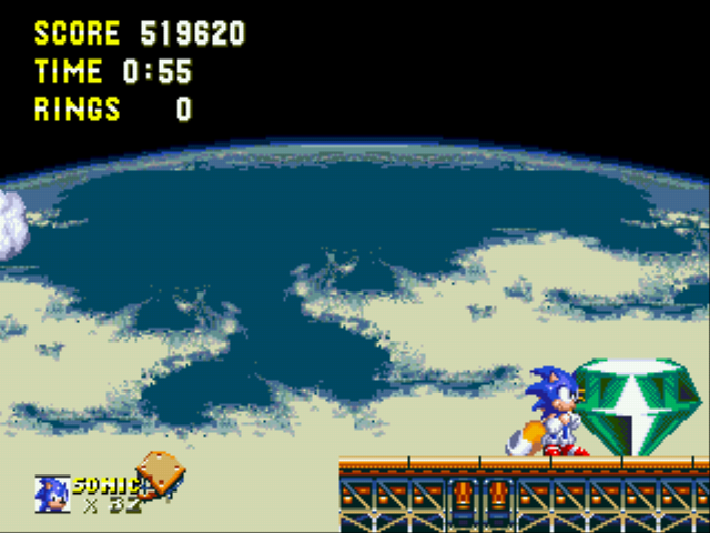 Sonic and Knuckles & Sonic 3 - Battle  - in under a minute...nice - User Screenshot