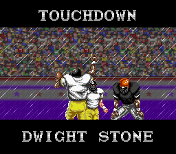 Tecmo Super Bowl - fumble recovery for a td - User Screenshot