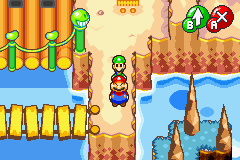 Mario & Luigi - Superstar Saga - luigi and the fat man - User Screenshot