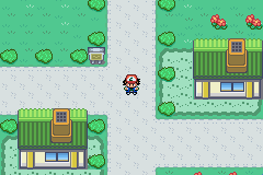 Pokemon Ash Gray (beta 3.61) - Location  - Viridian City - User Screenshot