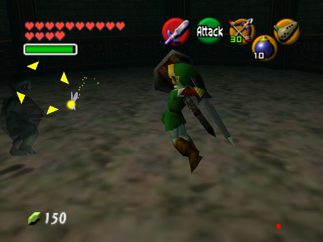The Legend of Zelda - Ocarina of Time (Debug Edition) -  - User Screenshot