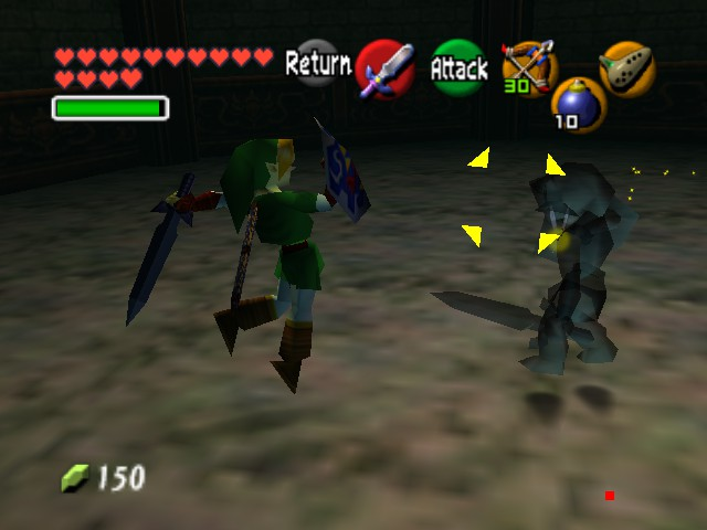 The Legend of Zelda - Ocarina of Time (Debug Edition) - Battle  - HI-YA - User Screenshot