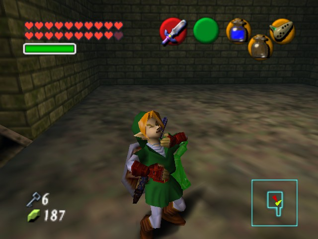 The Legend of Zelda - Ocarina of Time (Debug Edition) - Misc Forest Temple - Gaaah stop strangling me i cant breathe - User Screenshot