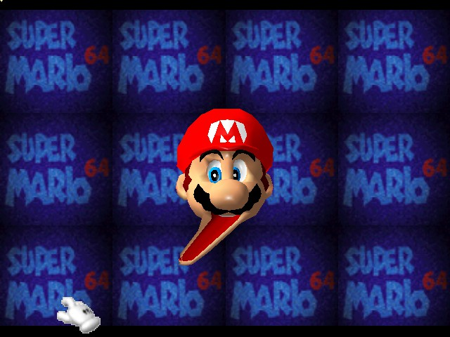 Super Mario 64 - Introduction  - Its a me, mr gumball machine ROFLMAO - User Screenshot