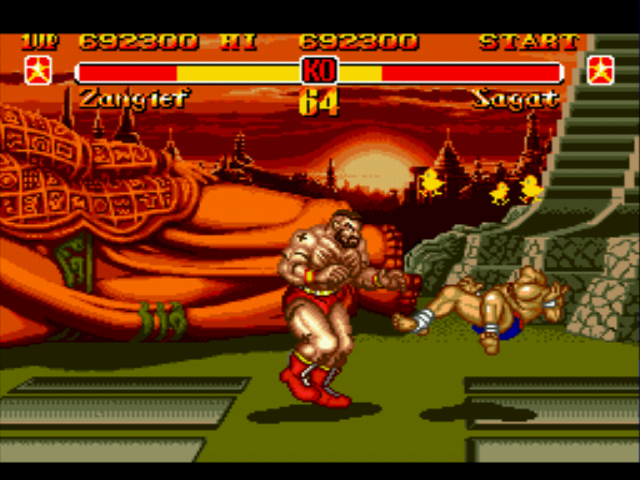 Super Street Fighter II - Dizzy already?! - User Screenshot