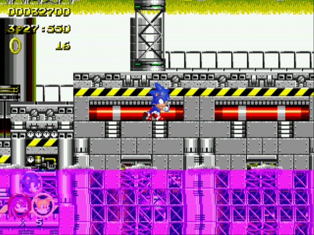 Sonic 2 Heroes - A little stuck, Sonic? - User Screenshot