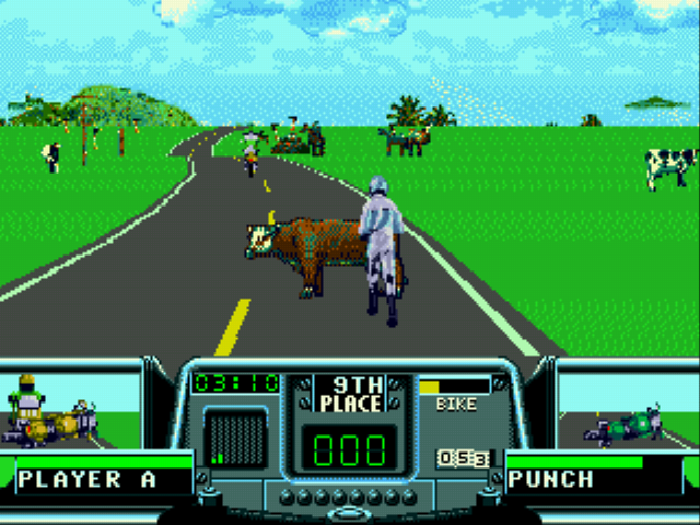 Road Rash 3 - heh. I think I\