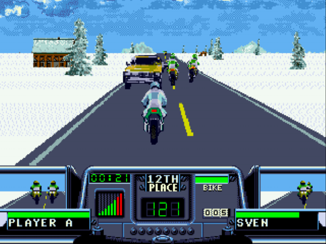 Road Rash 3 - Yay! Germeny - User Screenshot
