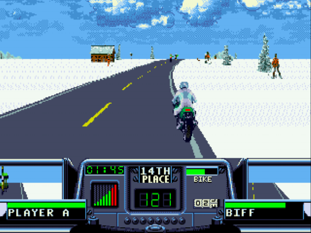 Road Rash 3 - T hope Adolf Hitler is in the audience - User Screenshot