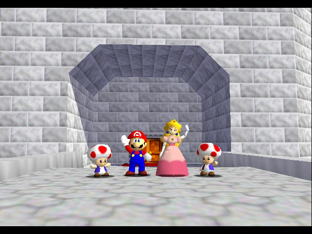 Super Mario 64 - all:Bye! - User Screenshot