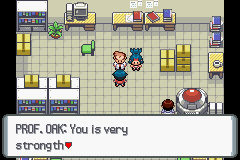 Pokemon Platinum - Cut-Scene  - ORLY? - User Screenshot