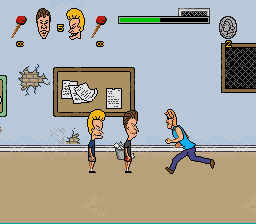 Beavis and Butthead - Level  - Hey Todd, can we join your gang? - User Screenshot