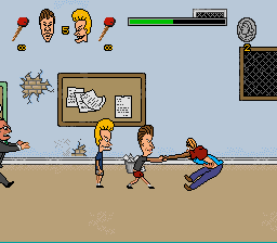 Beavis and Butthead - Battle  - Uh, whoops - User Screenshot