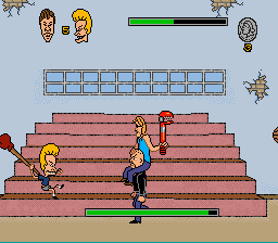 Beavis and Butthead - Battle  - Boss 1: Todd and Earl - User Screenshot