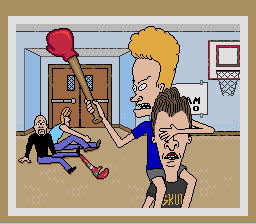 Beavis and Butthead - Cut-Scene  - Stage 1 end - User Screenshot