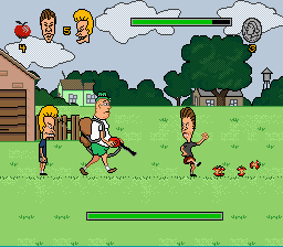Beavis and Butthead - Battle  - Boss 2: Tom Anderson - User Screenshot