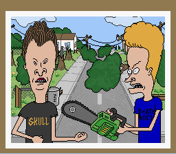Beavis and Butthead - Cut-Scene  - Stage 2 end - User Screenshot