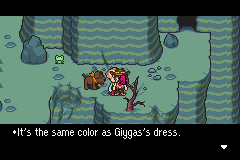 Mother 3 (english translation) - Cut-Scene  - THAT SPACE RIPPLE WEARS CLOTHES?! - User Screenshot