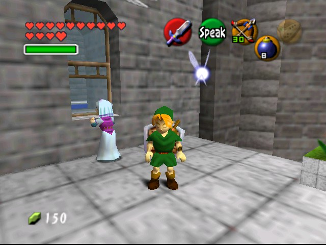 The Legend of Zelda - Ocarina of Time (Debug Edition) - Misc  - On the look out... - User Screenshot