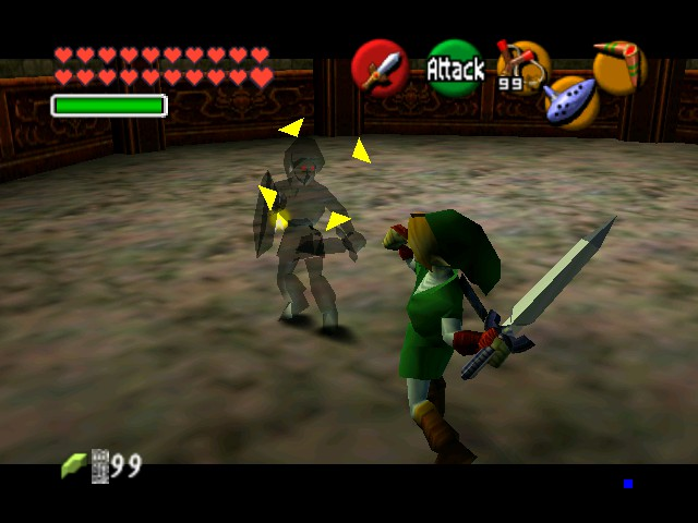 The Legend of Zelda - Ocarina of Time (Debug Edition) - Battle  - Encounter - User Screenshot