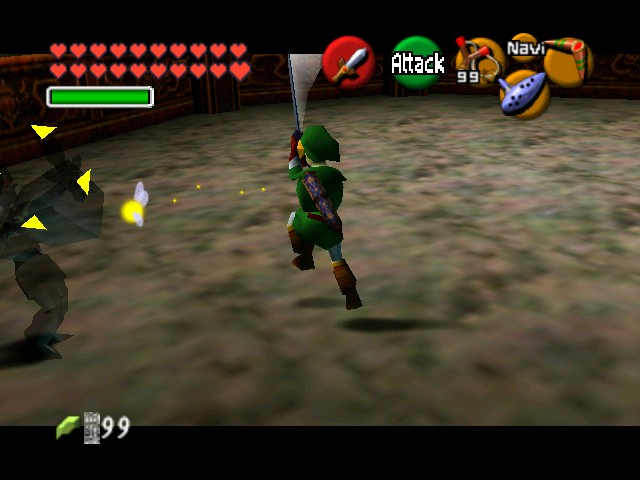 The Legend of Zelda - Ocarina of Time (Debug Edition) - Battle  -  - User Screenshot