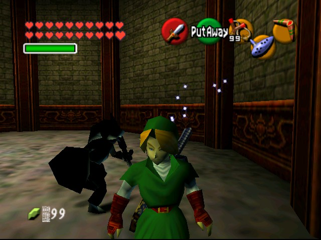 The Legend of Zelda - Ocarina of Time (Debug Edition) - Misc  - Classic Link & Dark Link - User Screenshot