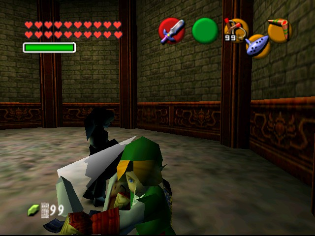 The Legend of Zelda - Ocarina of Time (Debug Edition) - Battle  - Slash 2 - User Screenshot