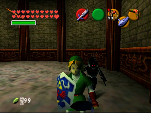 The Legend of Zelda - Ocarina of Time (Debug Edition) - Misc  - Link - User Screenshot
