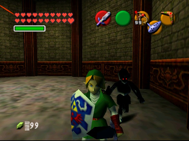 The Legend of Zelda - Ocarina of Time (Debug Edition) - Misc  - *stab* ACK now i