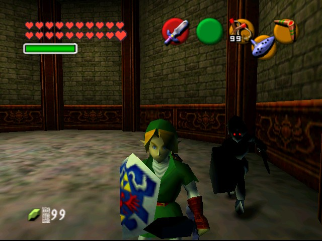 The Legend of Zelda - Ocarina of Time (Debug Edition) - Battle  - I