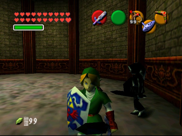 The Legend of Zelda - Ocarina of Time (Debug Edition) - Battle  - Attack 2 - User Screenshot