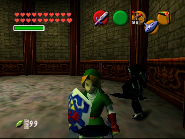The Legend of Zelda - Ocarina of Time (Debug Edition) - Battle  - Slash 4 - User Screenshot