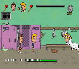 Beavis and Butthead - Battle  - Boss 3: A Nurse With a Big Butt - User Screenshot