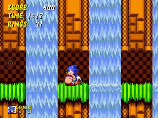 Sonic 2 XL - Uhh, I think im trapped. - User Screenshot