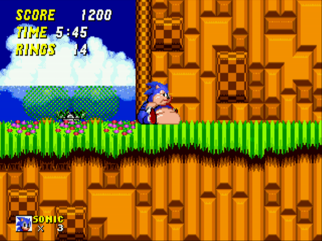 Sonic 2 XL - Move it! - User Screenshot