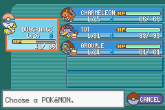 Pokemon Shiny Gold - Character Profile  - my team at jasmines tower - User Screenshot