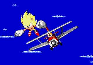 Sonic 2 XL - Ending  - IM NO LONGER FAT!! :D - User Screenshot