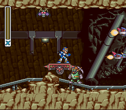 Mega Man X - Level  - PLOWIN YO FAISH - User Screenshot
