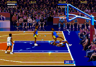 NBA Jam - BREAKING THE BACKBOARD - User Screenshot