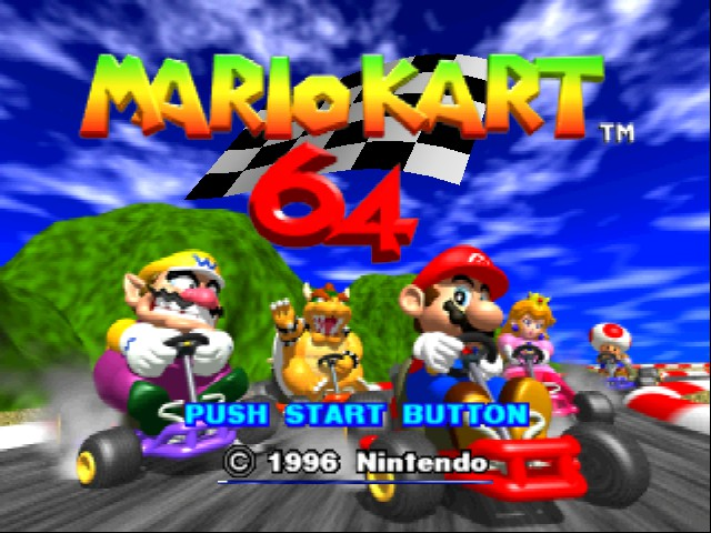Mario Kart 64 - Level Wario Stadium - CRAZY TIME WARIO STADIUM - User Screenshot