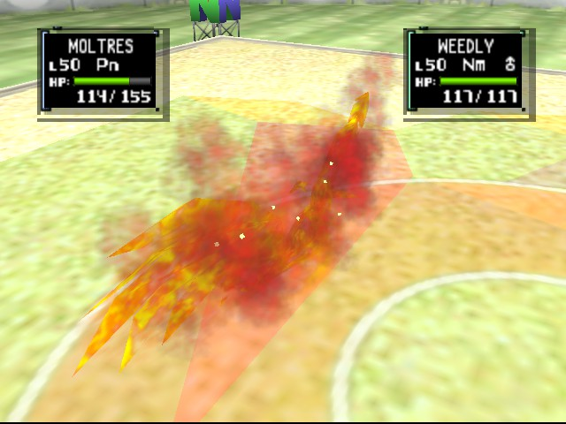 Pokemon Stadium 2 - moltres sky attack - User Screenshot