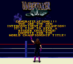 WWF Wrestlemania Arcade - Undertaker - User Screenshot