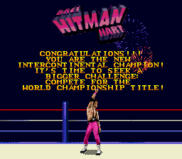 "WWF Wrestlemania Arcade - Bret ""Hit Man"" Hart - User Screenshot"